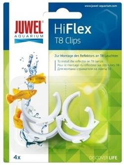 Клипсы пластиковые для отражателей Juwel Hiflex Clips Т8 - фото 19681