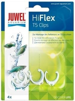 Клипсы пластиковые для отражателей Juwel Hiflex Clips Т5 - фото 19682