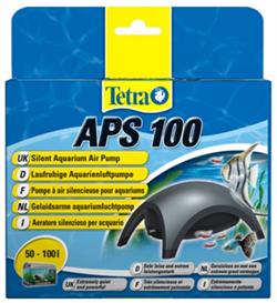 Компрессор Tetra APS 100 для аквариумов 50-100 л. /серый/ - фото 19684
