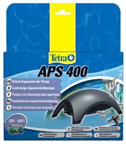 Компрессор Tetra APS 400 для аквариумов 250-600 л. /серый/ - фото 19690
