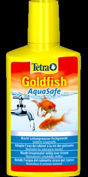 Кондиционер для аквариумной воды Tetra AQUA SAFE GOLDFISH /подготовка воды для золотых рыб/ 250 мл. - фото 19806