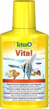 Кондиционер для аквариумной воды Tetra VITAL /улучшение здоровья рыб и растений/ 100 мл. - фото 19811