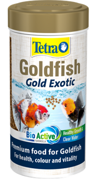 Корм для золотых рыб Tetra FIN GOLD EXOTIC 250 мл. /шарики/ - фото 19829