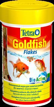 Tetra GOLDFISH FLAKES 100 мл, корм в хлопьях для золотых рыб - фото 19840