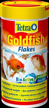 Корм для золотых рыб Tetra GOLDFISH FLAKES /хлопья/   250 мл. - фото 19841