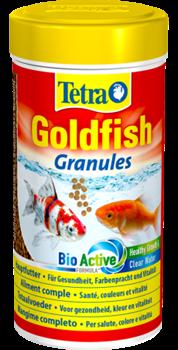 Корм для золотых рыб Tetra GOLDFISH GRANULES /гранулы/ 250 мл. - фото 19843