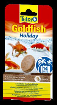 Корм для золотых рыб Tetra GOLDFISH HOLIDAY 30 г. /корм-желе выходного дня до 14 дней/ - фото 19845