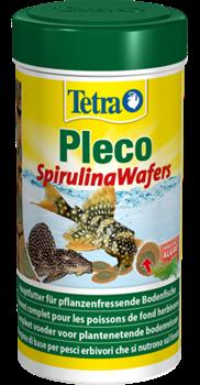 Корм для растительноядных сомов Tetra PLECO SPIRULINA WAFERS /большие таблетки/  250 мл. - фото 19856