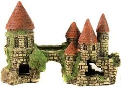 Декорация Декси Замок 101, 22х14х11 см. - фото 19958