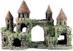 Декорация Декси Замок 103, 33х13х22 см. - фото 19960