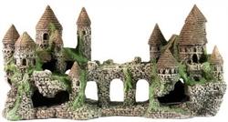 Декорация Декси Замок 104, 44х20х17 см. - фото 19961
