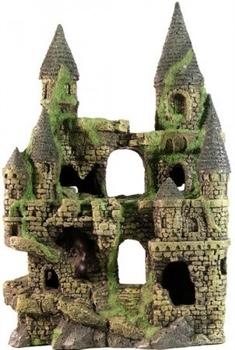 Декорация Декси Замок 105, 27х17х40 см. - фото 19962