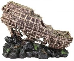 Декорация Декси Корабль 551 /Хвостовая часть/ 50х40х10 см. - фото 19972