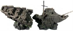 Декорация Декси Корабль 555, 81х27х28 см. - фото 19974