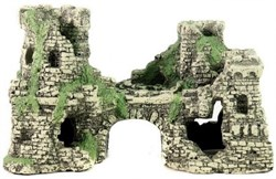 Декорация Декси Крепость 201, 22х11х13 см. - фото 19978