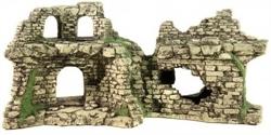 Декорация Декси Крепость 204, 43х16х20 см. - фото 19981