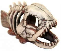 Декорация Декси Скелет рыбы 901, 20х9х12 см. - фото 19991