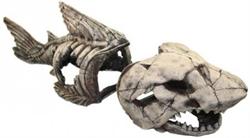 Декорация Декси Скелет рыбы 999, 80х26х30 см. - фото 19996