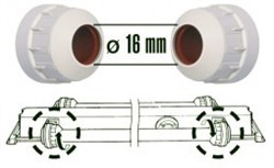 Патроны для ламп Juwel High-Lite Т5., 2 шт. - фото 20033