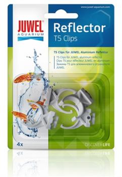 Клипсы пластиковые для аллюминевых отражателей Juwel Т5 - фото 20035