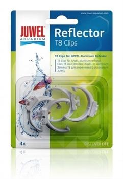 Клипсы пластиковые для аллюминевых отражателей Juwel Т8 - фото 20036