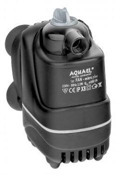 Фильтр внутренний Aquael FAN- micro plus /для аквариумов 3-30 л/, 250 л/ч - фото 20080