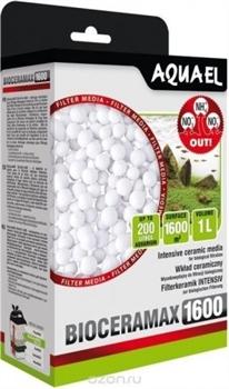 Фильтрующий материал Aquael BIOCERAMAX 1600 /шарики из спеченного стекла/ 1 л. - фото 20111