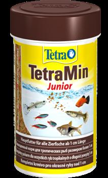 Корм для мальков-подростков Tetra MIN JUNIOR 100 мл. /мелкие хлопья/ - фото 20187
