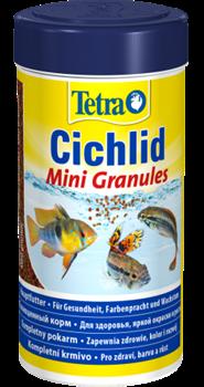 Корм для цихлид Tetra CICHLID MINI GRANULES 250 мл. /мелкие гранулы/ - фото 20194