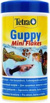 Корм для гуппи Tetra GUPPY MINI FLAKES /хлопья/ 250 мл. - фото 20211