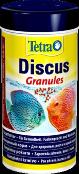 Корм для дискусов Tetra DISCUS GRANULES /мелкие гранулы, крупа/   250 мл. - фото 20217