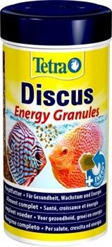 Корм для дискусов Tetra DISKUS ENERGIE GRANULES 250 мл. /мелкие гранулы/ - фото 20219
