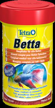 Корм для лабиринтовых и бойцовых рыб Tetra BETTA 100 мл. /хлопья/ - фото 20222