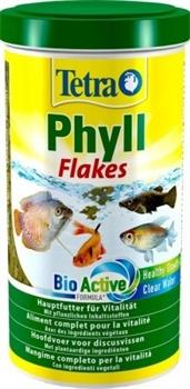 Корм для растительноядных рыб Tetra PHYLL /хлопья/ 1 л. - фото 20224