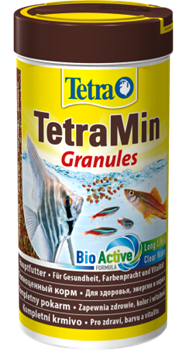 Корм для рыб Tetra MIN GRANULES /средние гранулы/  250 мл. - фото 20235