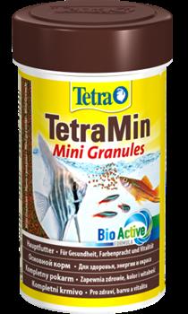 Корм для рыб Tetra MIN MINI GRANULES 100 мл. /мелкие гранулы/ - фото 20236