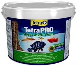 TetraPRO Algae Multi-Crisps корм в чипсах для рыб, 10 л. - фото 20247