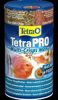 Корм для рыб TetraPro Multi-Crisps Menu /хлопья 4 в 1/ - фото 20257