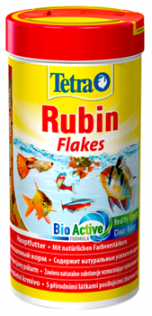 Корм для рыб Tetra RUBIN /хлопья/   250 мл. - фото 20261