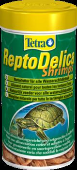 Корм-лакомство для рептилий Tetra DELICA SHRIMPS /креветки/ 1 л. - фото 20289