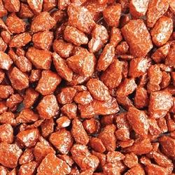 Грунт цветной Aquagrunt /вишневый/ 3-5 мм., 1 кг. - фото 20350
