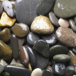 Грунт для аквариума Aquagrunt МОРСКАЯ ГАЛЬКА 10-20 мм 2 кг. - фото 20374
