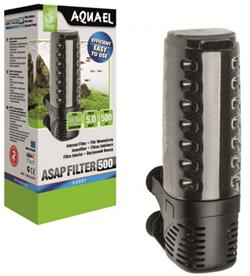 Внутренний фильтр Aquael ASAP 500 /для аквариумов 50-150 л/, 500 л/ч - фото 20398