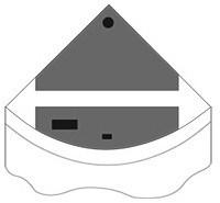 Комплект пластиковых крышек для Juwel Trigon 190, черный - фото 20578