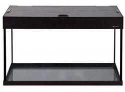 Аквариум Аква Плюс LUX П120, 115 л. LED 80х35х49 см. /венге/ /прямоугольный/ - фото 20641