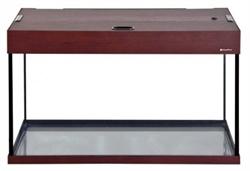 Аквариум Аква Плюс LUX П120, 115 л. LED 80х35х49 см. /махагон/ /прямоугольный/ - фото 20646