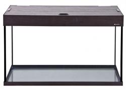 Аквариум Аква Плюс LUX П150, 150 л. LED 90х35х56 см. /венге/ /прямоугольный/ - фото 20649