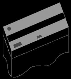 Комплект пластиковых крышек 80х30 см. для Juwel Rio 125, 2 шт., черный - фото 20749