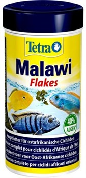 Корм для малавийских цихлид Tetra Malawi Flakes хлопья  250 мл. - фото 20769