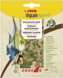 Корм для рыб основной в хлопьях Sera VIPAN NATURE   12 г. (пакетик) - фото 20863